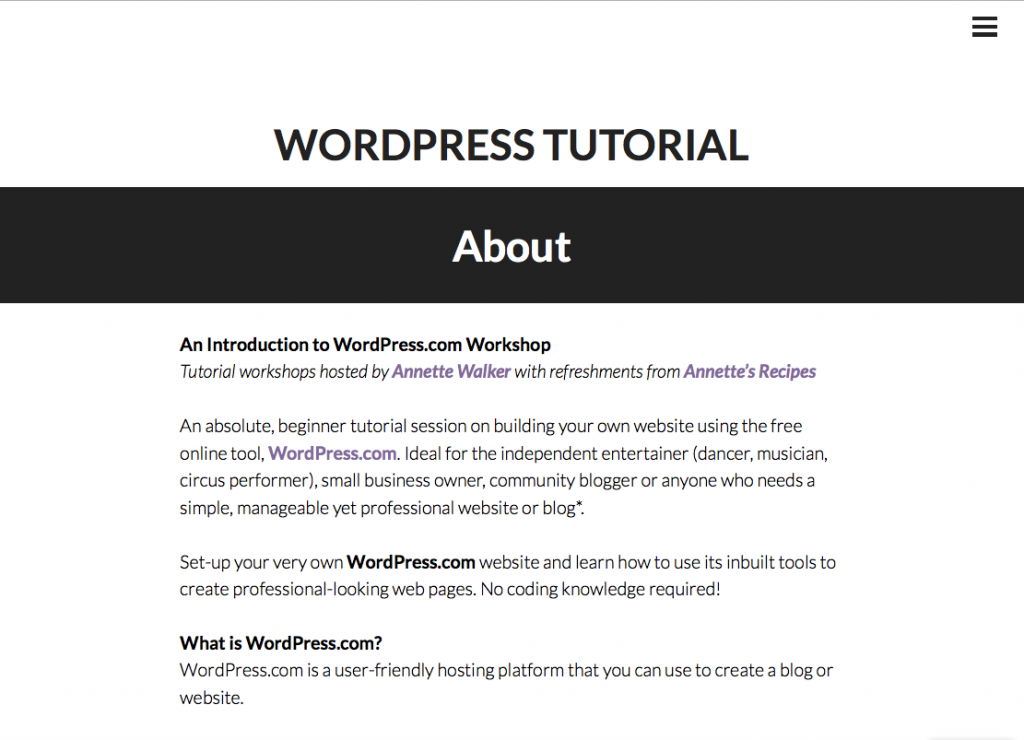 annettes-wordpress-tutorial